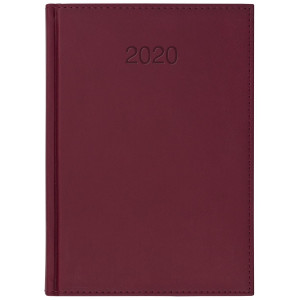 VIVO * A4 tygodniowy BORDO kalendarz książkowy