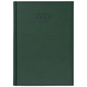 VIVO * A4 tygodniowy ZIELONY kalendarz książkowy