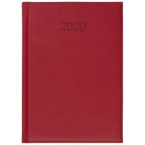 VIVO * A5 dzienny CZERWONY kalendarz książkowy