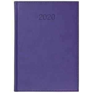 VIVO * A5 dzienny FIOLETOWY kalendarz książkowy
