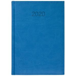 VIVO * A5 dzienny NIEBIESKI kalendarz książkowy
