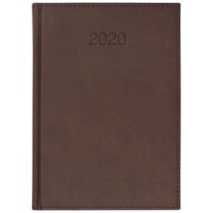 VIVO * A5 dzienny z registrem BRĄZ kalendarz książkowy