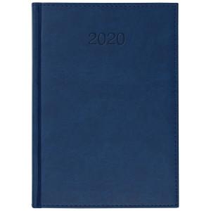 VIVO * A5 dzienny z registrem GRANAT kalendarz książkowy