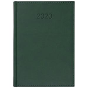 VIVO * A5 dzienny z registrem ZIELONY kalendarz książkowy