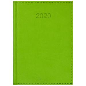 VIVO * A5 dzienny z registrem JASNOZIELONY kalendarz książkowy