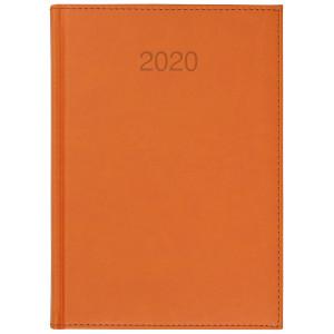 VIVO * A5 dzienny z registrem POMARAŃCZOWY kalendarz książkowy