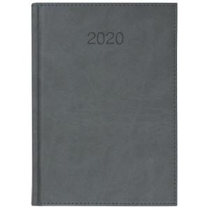 VIVO * A5 dzienny z registrem SZARY kalendarz książkowy
