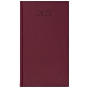 VIVO * A6 tygodniowy BORDO kalendarz książkowy
