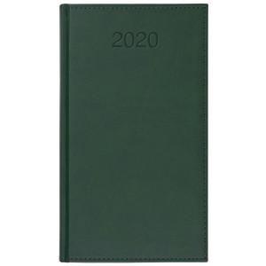 VIVO * A6 tygodniowy ZIELONY kalendarz książkowy