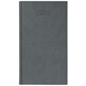 VIVO * A6 tygodniowy SZARY kalendarz książkowy
