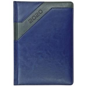 COMBO * A4 dzienny z registrem GRANATOWY / SZARY kalendarz książkowy