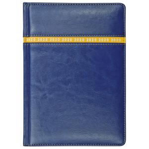 COMBO * A4 dzienny z registrem GRANATOWY / ŻÓŁTY kalendarz książkowy