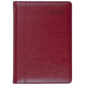 NEVRO * A4 dzienny z registrem BORDOkalendarz książkowy