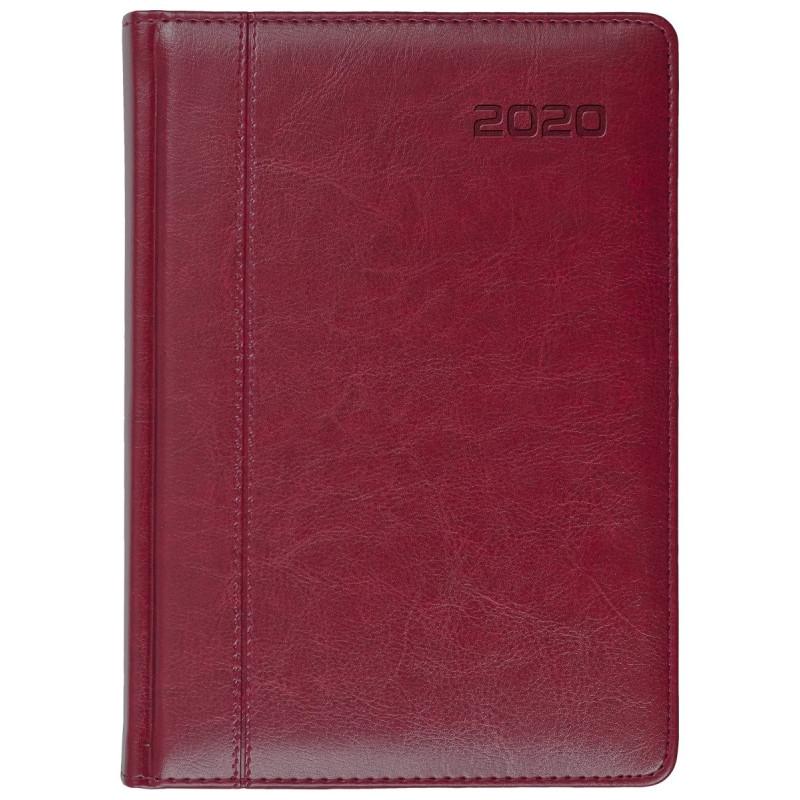 NEVRO * B6 dzienny z registrem BORDOkalendarz książkowy