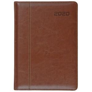 NEVRO * B6 dzienny z registrem BRĄZkalendarz książkowy