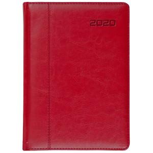 NEVRO * B6 dzienny z registrem CZERWONYkalendarz książkowy