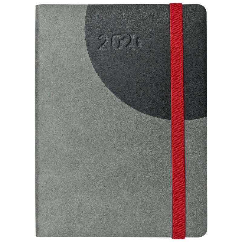 FLEXI * A5 tygodniowy  GRAFITOWY i CZARNY kalendarz książkowy