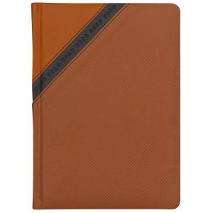 STARDUST * A5 dzienny  POMARAŃCZOWY / GRAFITOWY kalendarz książkowy