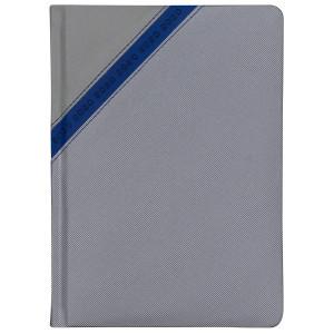 STARDUST * A5 dzienny  SZARY / GRANATOWY kalendarz książkowy