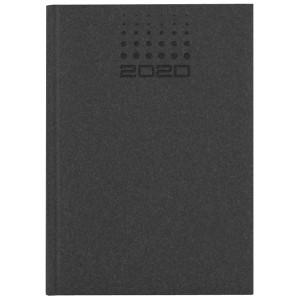 NATURA CLASSIC * A4 tygodniowy CZARNY kalendarz książkowy