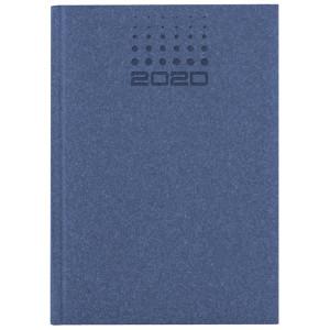 NATURA CLASSIC * A4 tygodniowy GRANATOWY kalendarz książkowy