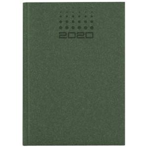 NATURA CLASSIC * A5 dzienny ZIELONY kalendarz książkowy