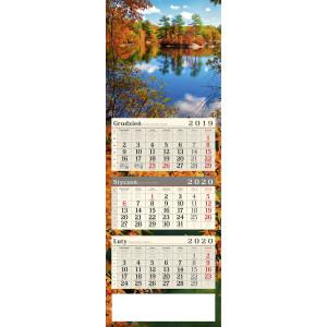 kalendarz trójdzielny - STAW