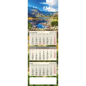 kalendarz trójdzielny - TATRY