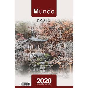 Kalendarz Biurkowy - Stojący - Tygodniowy - MUNDO