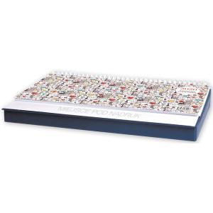 Kalendarz Biurkowy - Leżący - Tygodniowy z PIÓRNIKIEM