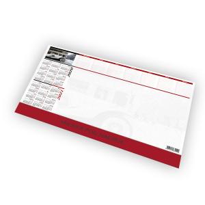 Kalendarz Biurkowy - BIUWAR MAŁY z listwą PCV