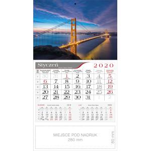 kalendarz jednodzielny - MOST