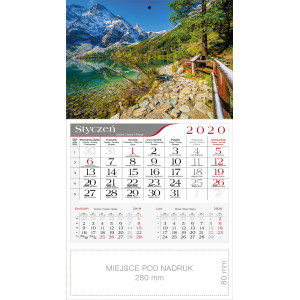 kalendarz jednodzielny - MNICH