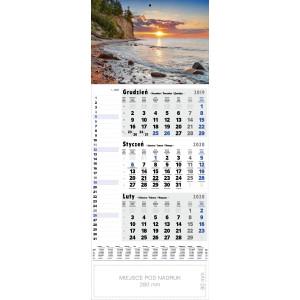 kalendarz jednodzielny - NAD BAŁTYKIEM