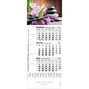 kalendarz jednodzielny - ZEN