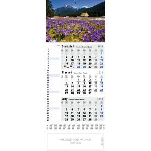 kalendarz jednodzielny - KROKUSY