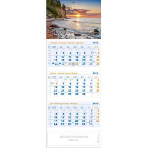 kalendarz trójdzielny - NAD BAŁTYKIEM