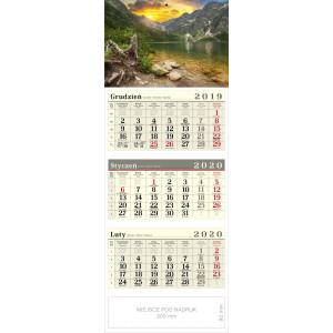 kalendarz trójdzielny - RYSY