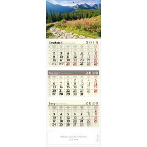 kalendarz trójdzielny - HALA GĄSIENICOWA