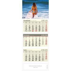 kalendarz trójdzielny - AGNIESZKA
