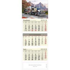 kalendarz trójdzielny - TRUCK
