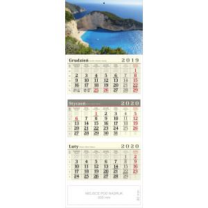 kalendarz trójdzielny - ZATOKA WRAKU