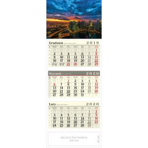 kalendarz trójdzielny - METROPOLIA