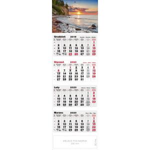 kalendarz czterodzielny - NAD BAŁTYKIEM