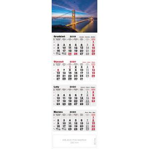 kalendarz czterodzielny - MOST
