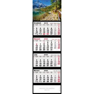 kalendarz czterodzielny - MNICH