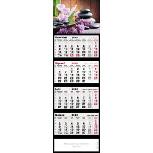 kalendarz czterodzielny - ZEN