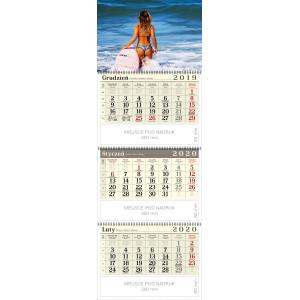 kalendarz trójdzielny spiralowany - AGNIESZKA