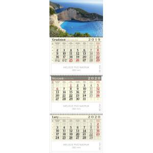 kalendarz trójdzielny spiralowany - ZATOKA WRAKU