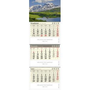 kalendarz trójdzielny spiralowany - PRZYJACIELE